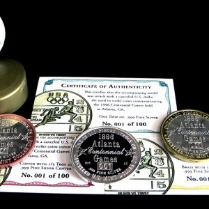 Commemorative Coins & Medallions