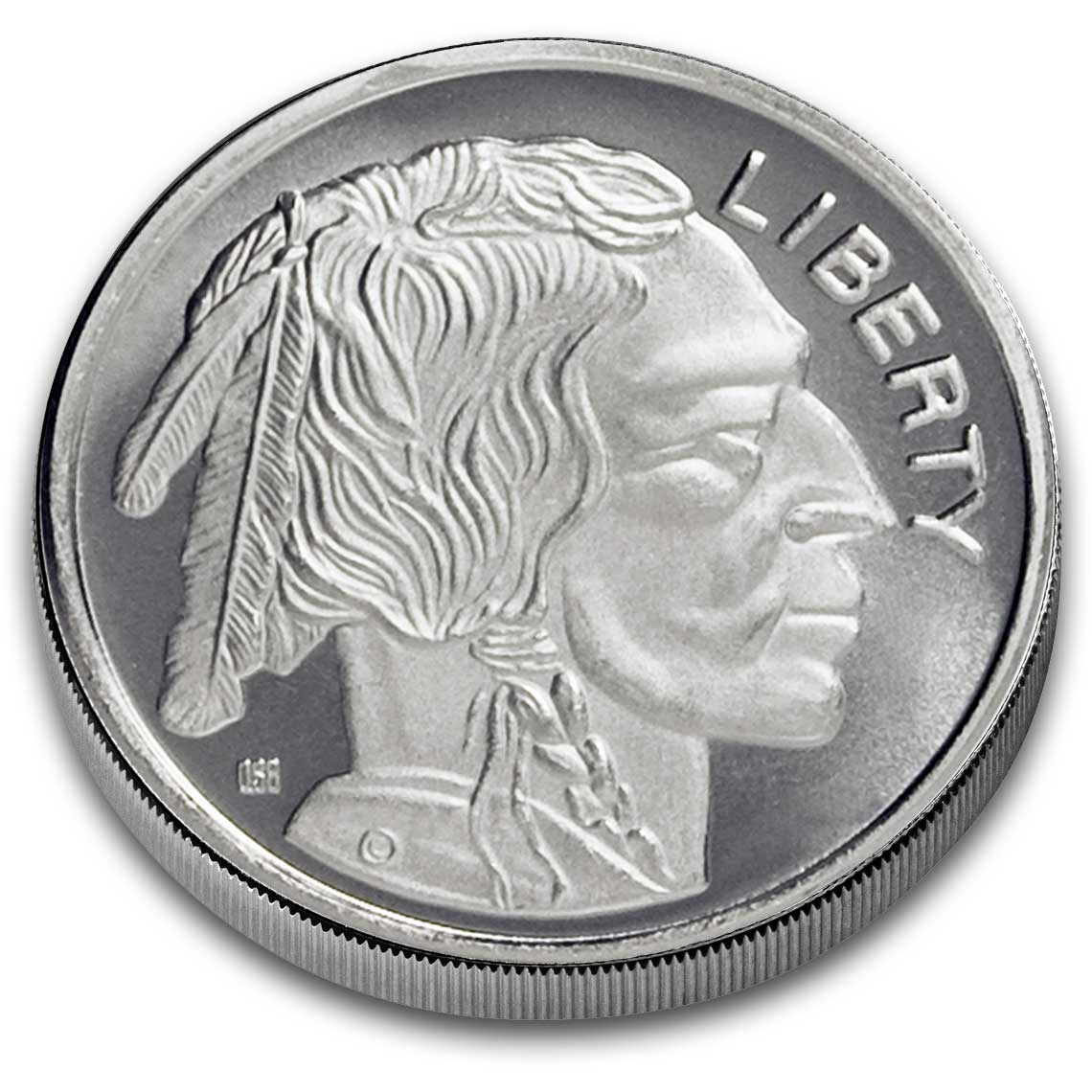 One Troy Ounce 999 Fine Silver Buffalo Silver Rounds 1 Oz