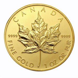 Gold Maple Leaf Rev