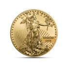 (Random year) 1/10 Oz gold Eagle United States  Front
