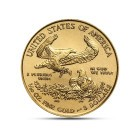(Random year) 1/10 Oz gold Eagle United States  Back