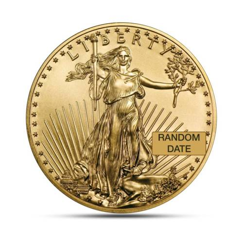American Eagle 1/4 Ounce Gold Coin obverse