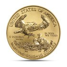 (Random year) 1/4 Oz gold Eagle United States  Back