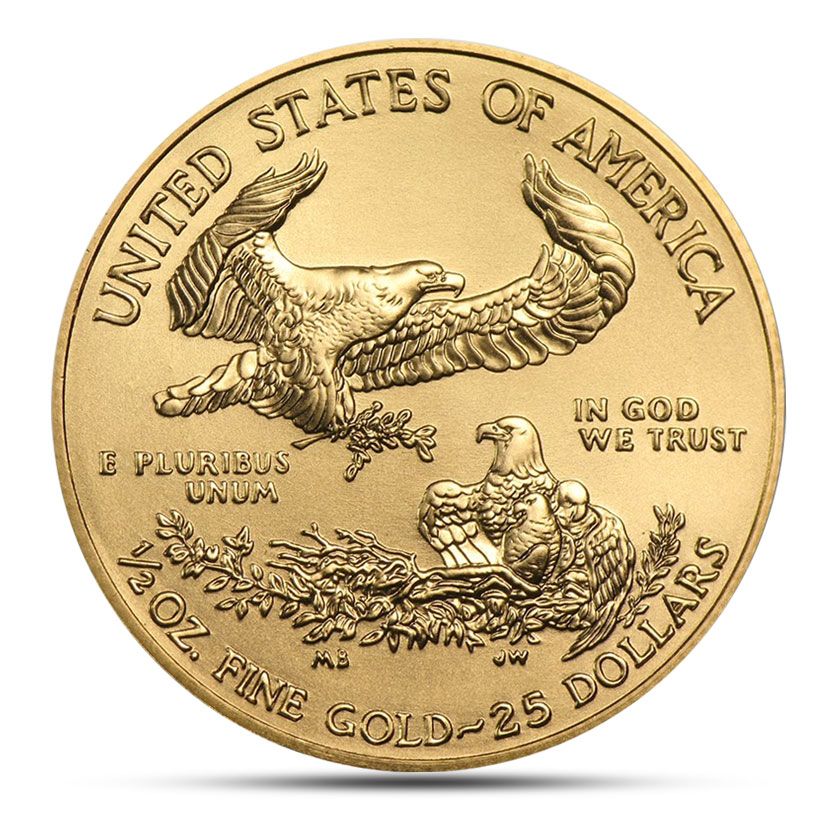 American Eagle 1 2 Ounce Gold Coin For Sale 1 2 Oz Eagle