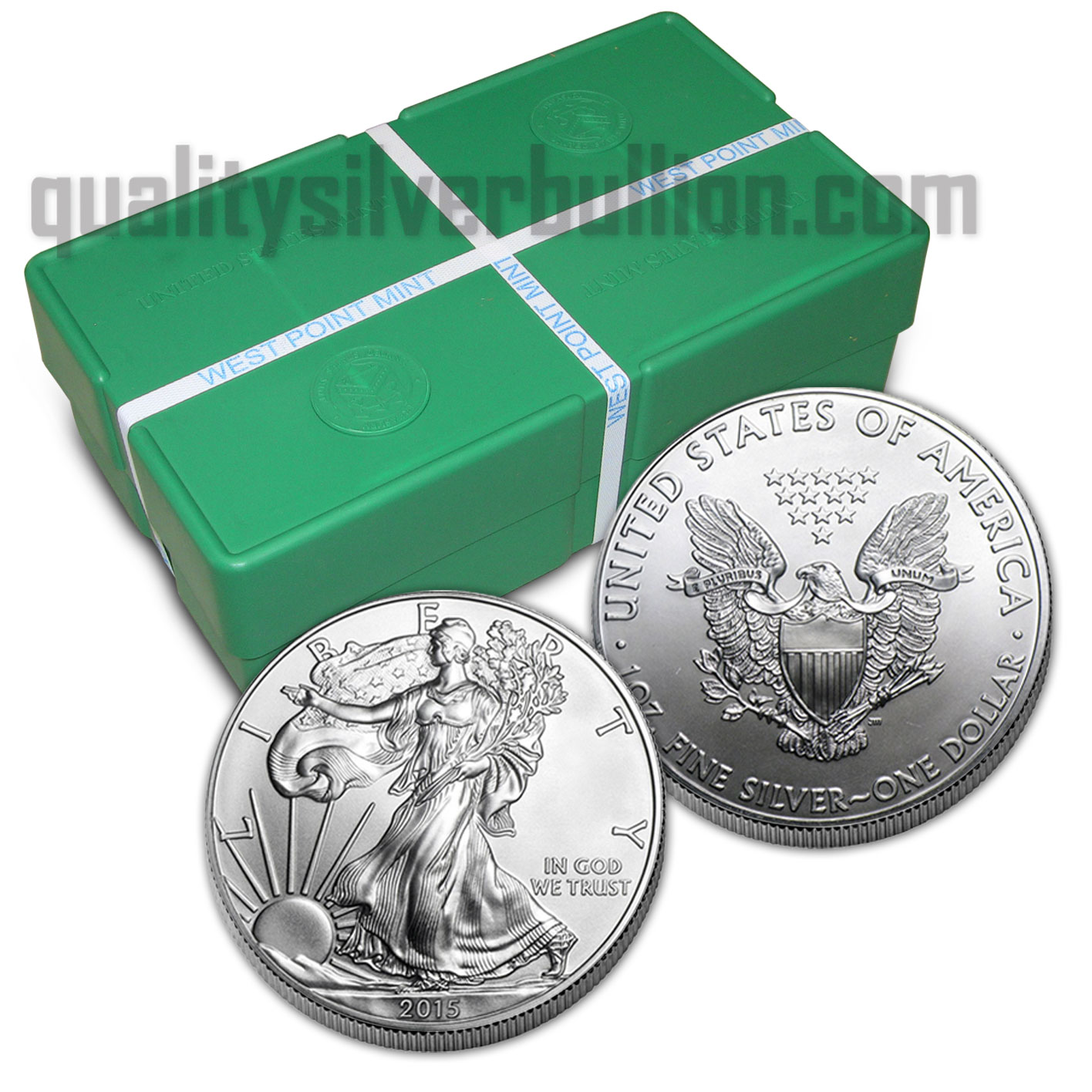 Silver Monster Box Of 500 1 Oz American Silver Eagle Dollars