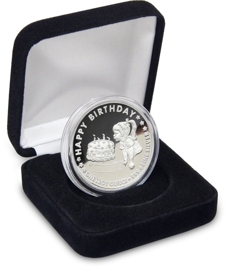 1 Troy Ounce Silver Buffalo Coin Highland Mint Silver
