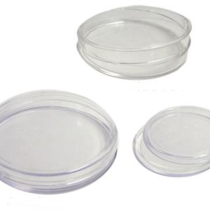 Plastic Coin Capsules