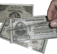 Paper Money & Currency Sleeves