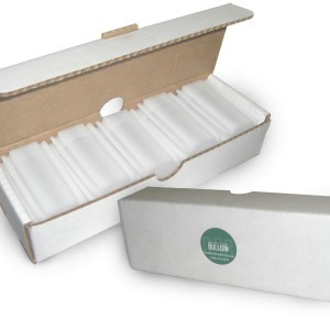 Silver Coin Tube Storage Case