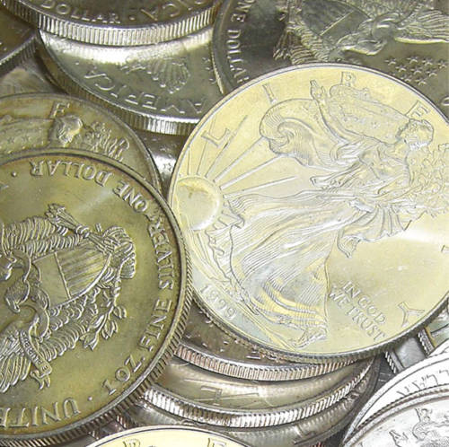 American Silver Eagle Dollars - (Circulated Coins)