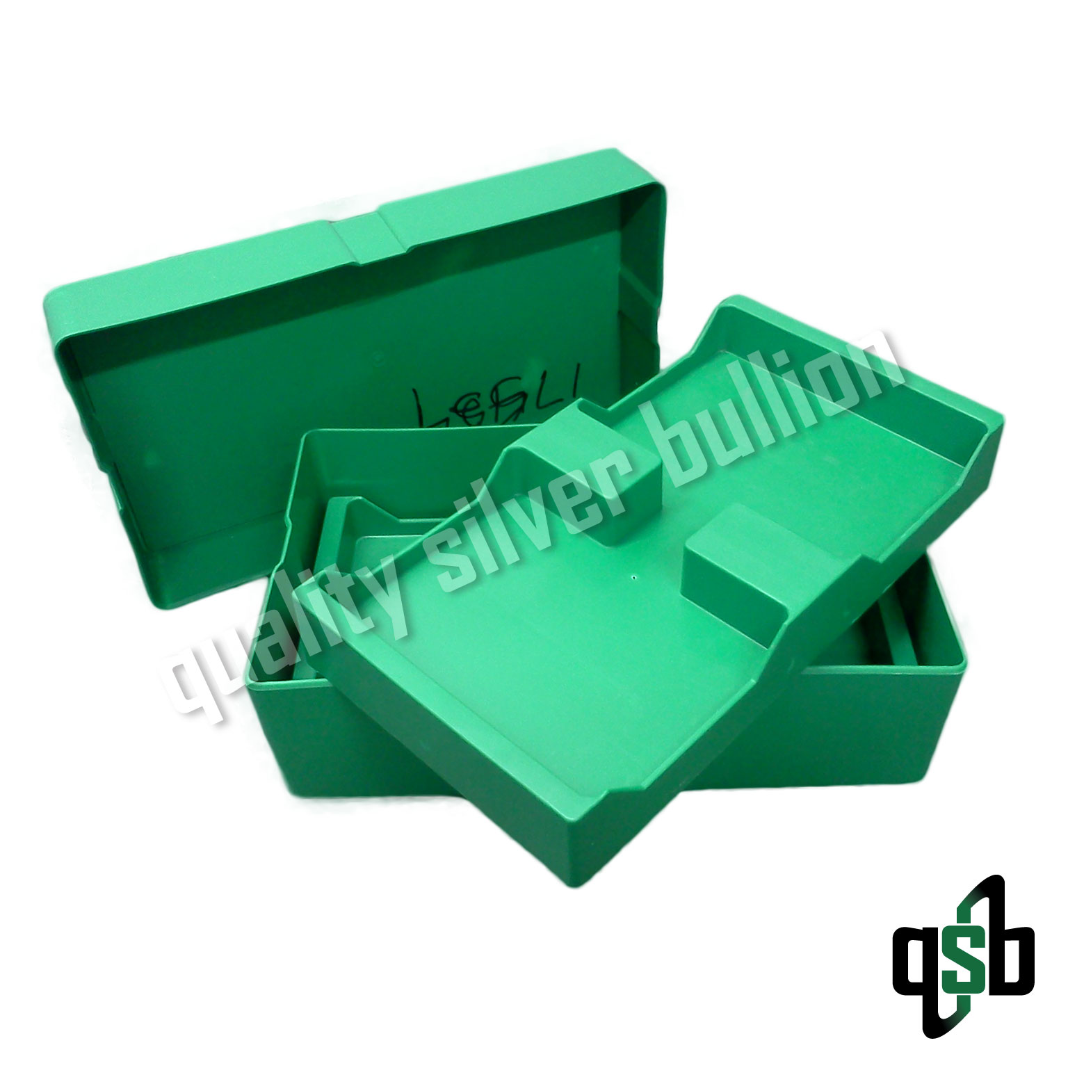 Green Monster Box for 500 American Silver Eagle Coins - EMPTY