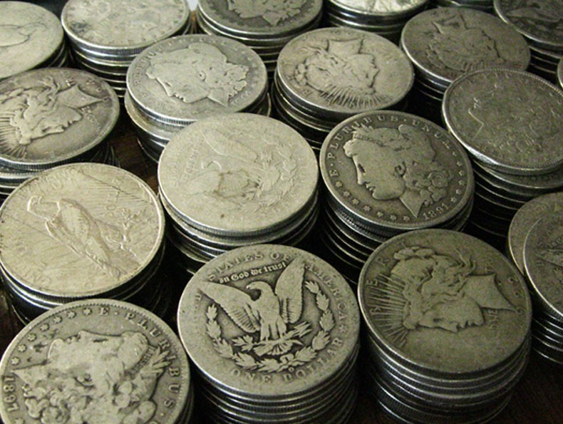 90% Cull Peace & Morgan Silver Dollars for Sale