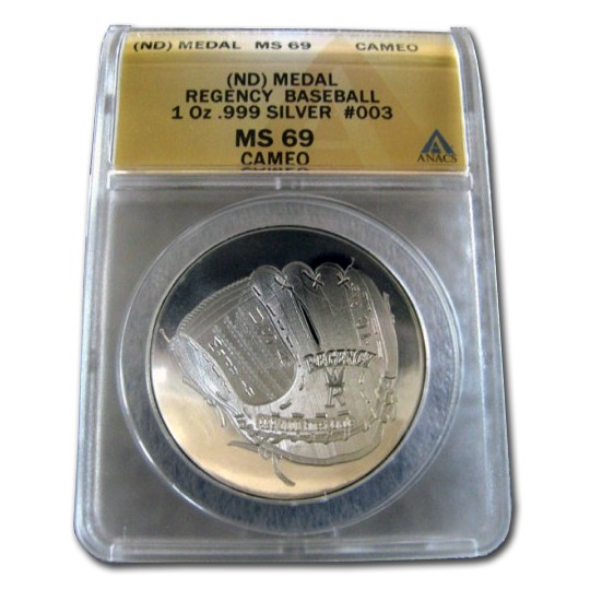 Baseball Hall of Fame Coin Replica Series 2 - 1 oz .999 Silver Round