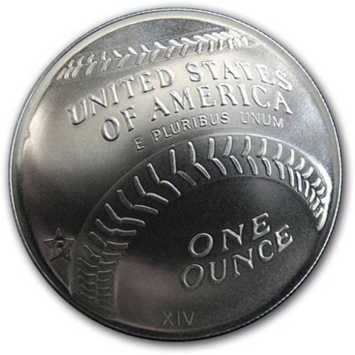 Baseball Hall of Fame Coin Replica Series 2 - 1 oz .999 Silver Round