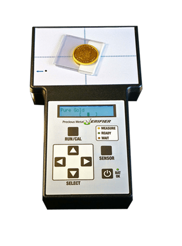 Gold And Silver Tester : Precious metal verifier testing kit optional tester wands