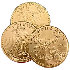 Impaired 1-oz American Gold Eagle Coin