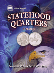 Official Whitman Statehood Quarter Folder with DC & Territories