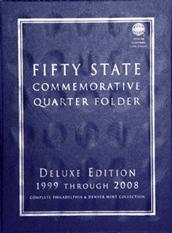 Deluxe Edition: Commemorative Quarter Folder P&D