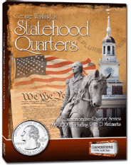 Statehood Quarter Album 1999-2009. P&D