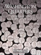 State Quarter Collection Folder 1999-2003 Vol I
