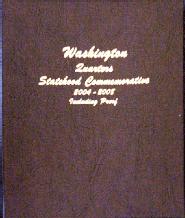 Statehood Quarters 2004-2008 Vol 2. P&D, with S proof