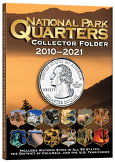 4 Color National Park Quarters Folder 5 3/4 x 7 3/4-1MM