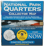 National Park Quarters Foam Map