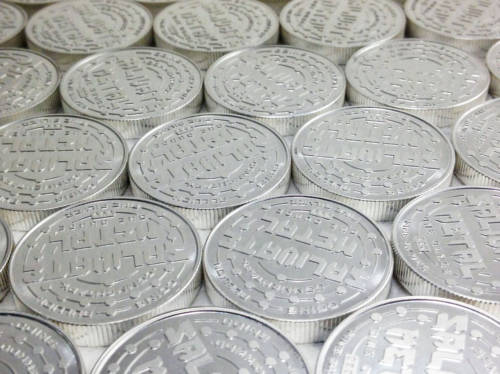 1 oz. Salivate Metal Thick .999 Silver Rounds - Bullion Grade