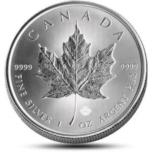 Royal Canadian Mint Silver Coins & Bars