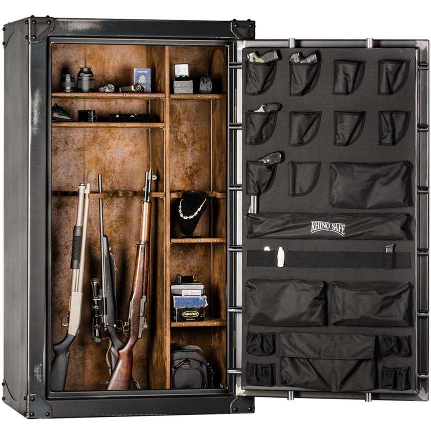 Rhino Iron Works Gun Safe Model CIWD7242X
