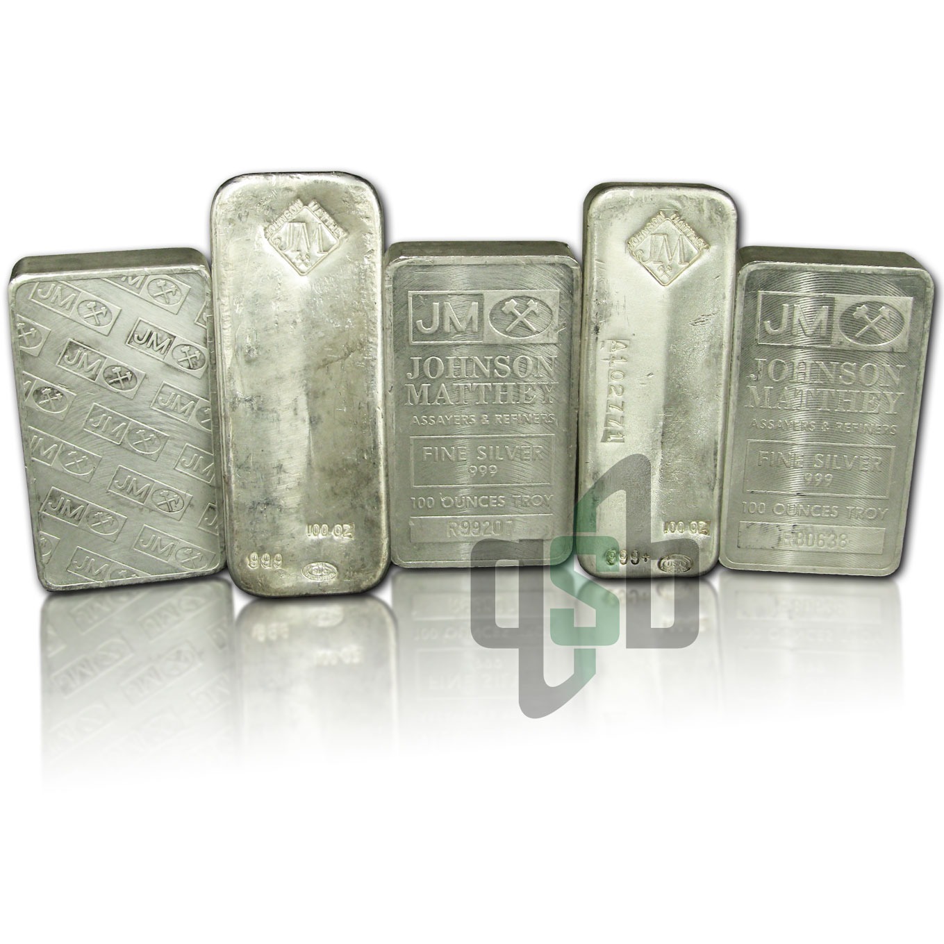 100 oz Johnson Matthey Silver Bar