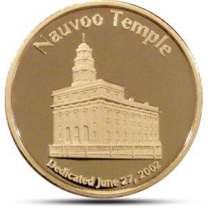 Nauvoo Temple Brass Obv