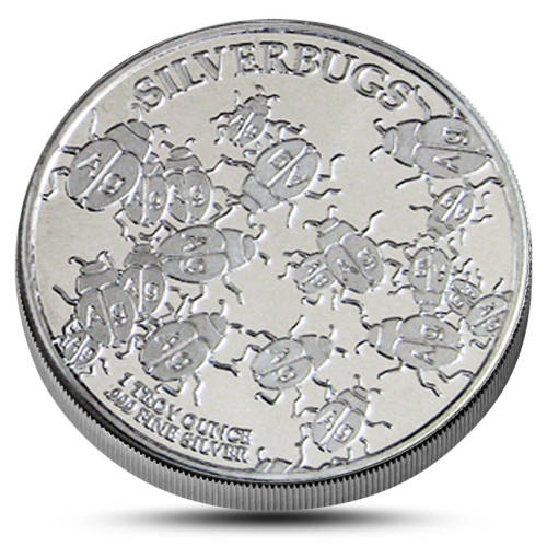 Silverbugs Silver round obverse