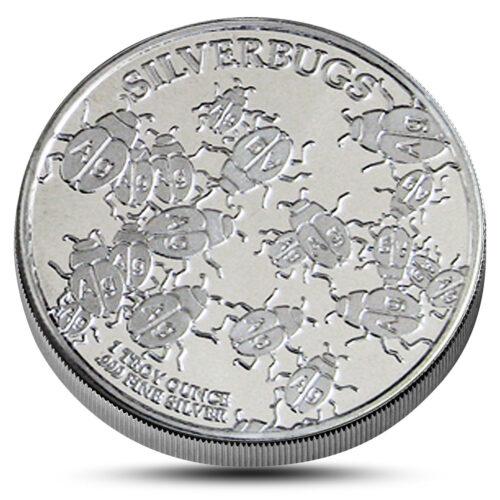 Silverbugs Silver round obverse
