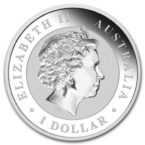 Kookaburra coin 1 oz silver obverse